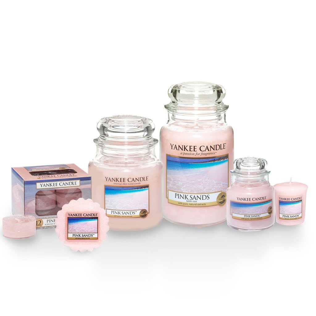 PINK SANDS -Yankee Candle- Charming Scents Kit Iniziale Linear