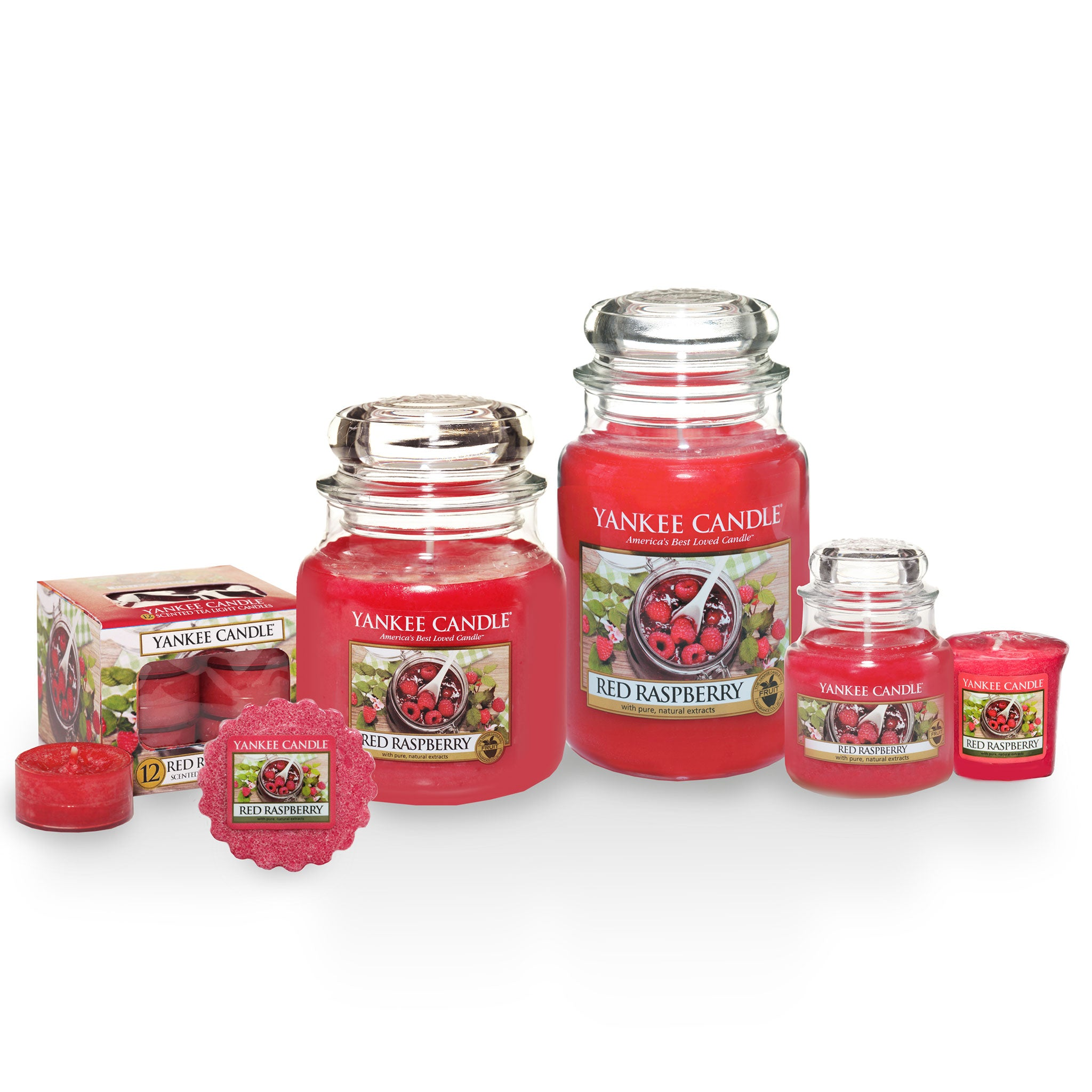 RED RASPBERRY -Yankee Candle- Giara Media