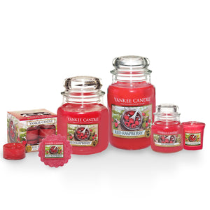 RED RASPBERRY -Yankee Candle- Candela Sampler
