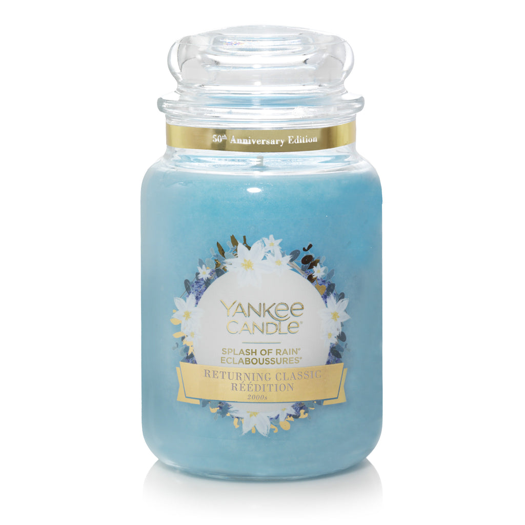 SPLASH OF RAIN -Yankee Candle- Giara Grande