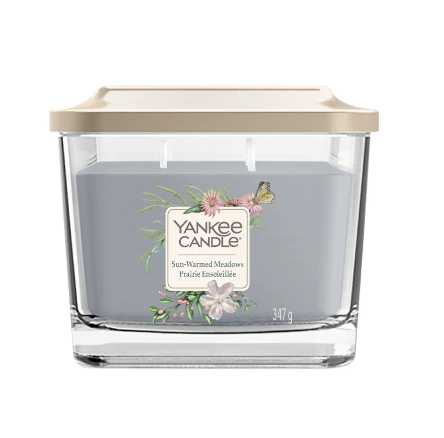 SUN-WARMED MEADOWS -Yankee Candle- Candela Media