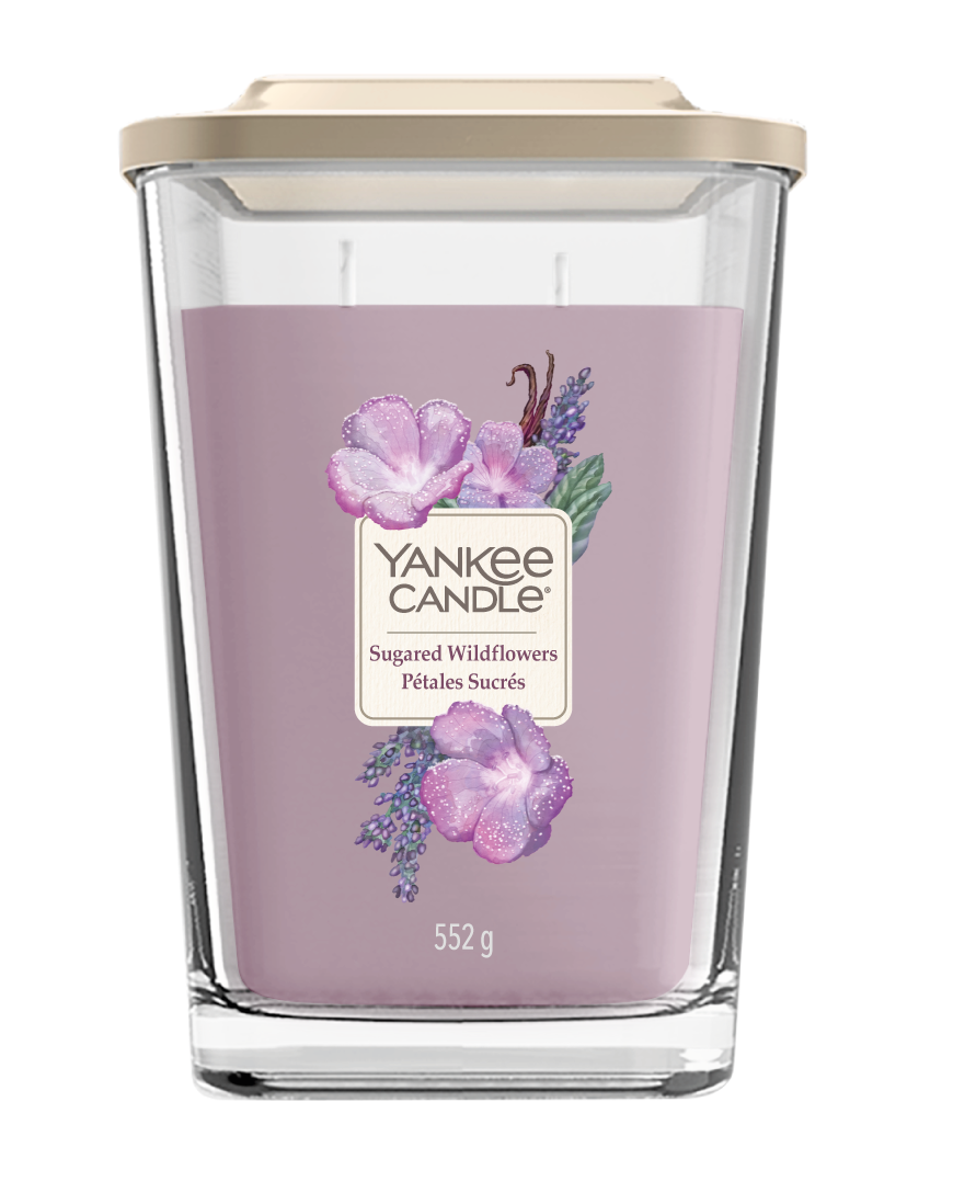 SUGARED WILDFLOWERS -Yankee Candle- Candela Grande