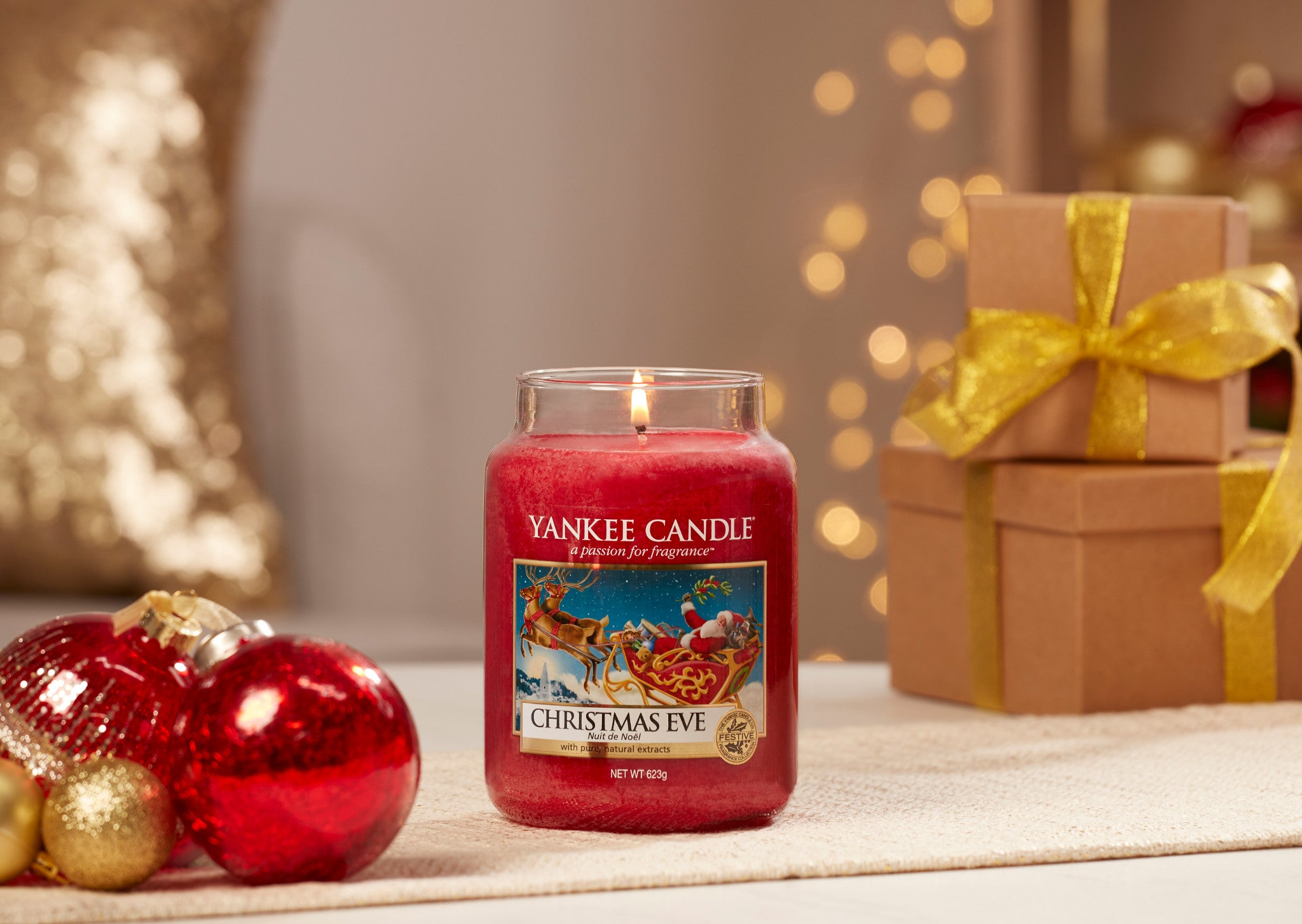 CHRISTMAS EVE -Yankee Candle- Giara Media