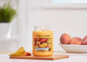 MANGO PEACH SALSA -Yankee Candle- Giara Media