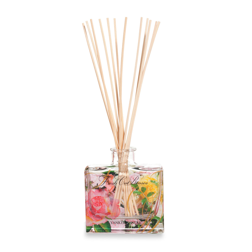 FRESH CUT ROSES -Yankee Candle- Reed Diffuser
