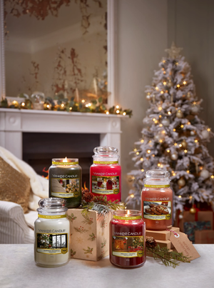 SINGING CAROLS -Yankee Candle- Candela Sampler