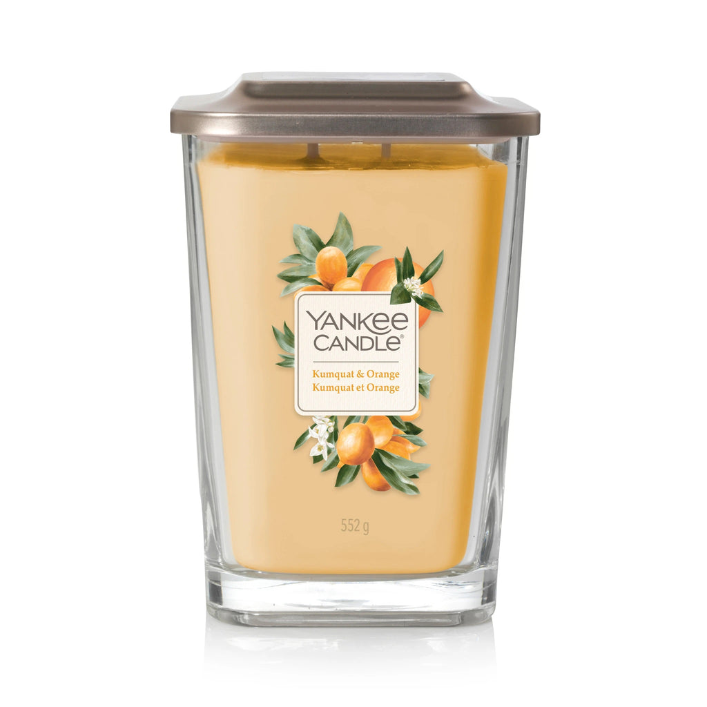 KUMQUAT & ORANGE -Yankee Candle- Candela Grande