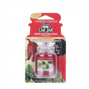CRANBERRY PEAR -Yankee Candle- Car Jar Ultimate