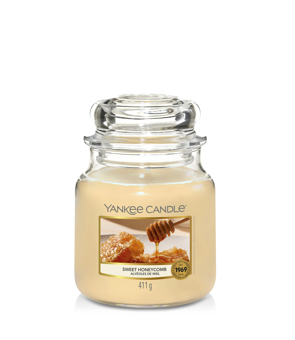 SWEET HONEYCOMB -Yankee Candle- Giara Media