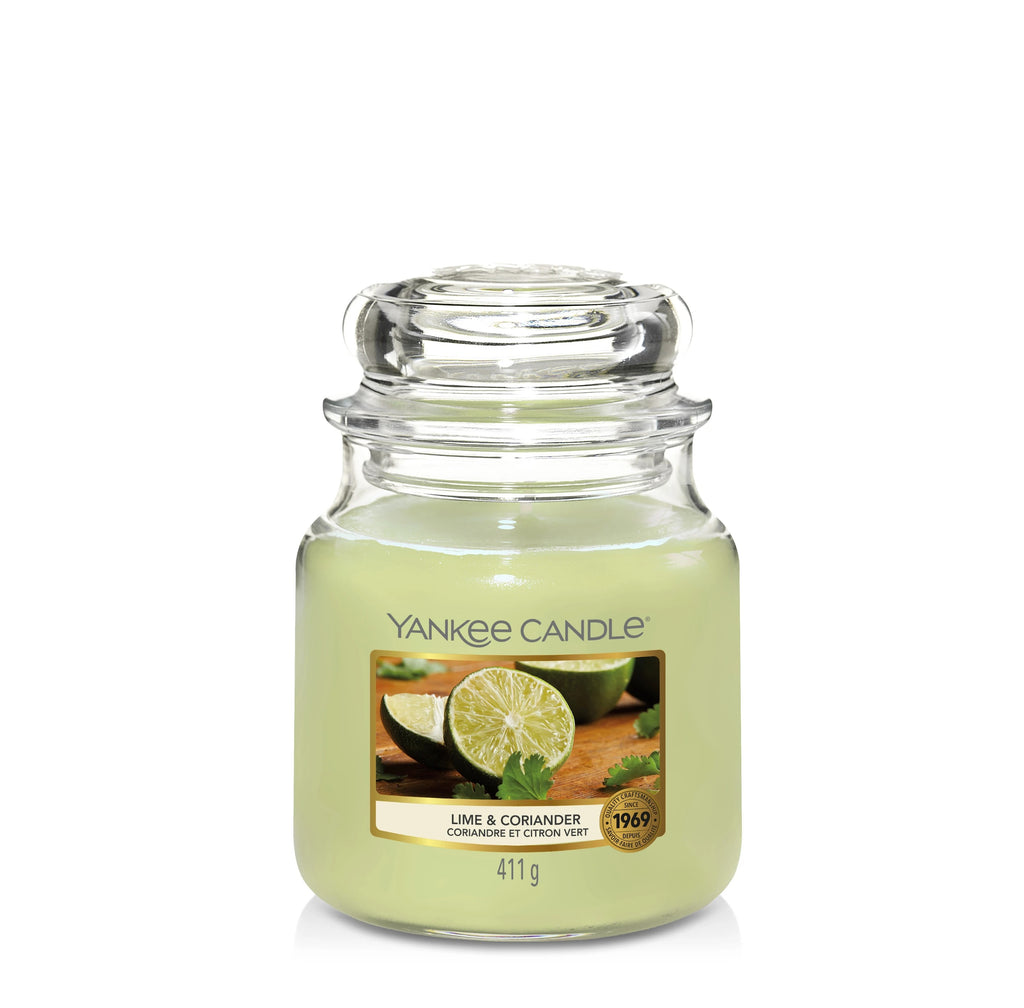 LIME & CORIANDER -Yankee Candle- Giara Media