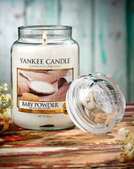 BABY POWDER -Yankee Candle- Candela Sampler