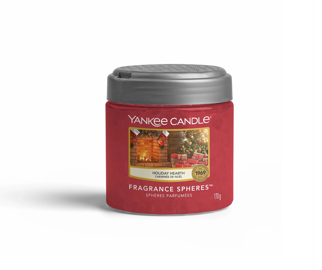 HOLIDAY HEARTH -Yankee Candle- Sfere Profumate