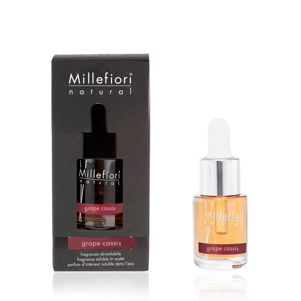 GRAPE CASSIS -Millefiori Milano- Fragranza Idrosolubile (15ml)