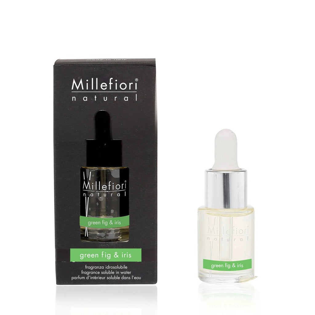 GREEN FIG & IRIS -Millefiori Milano- Fragranza Idrosolubile (15ml)