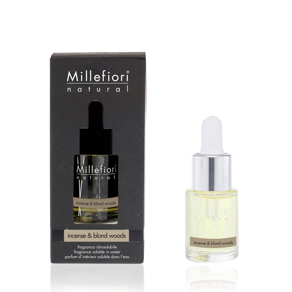 INCENSE & BLOND WOODS -Millefiori Milano- Fragranza Idrosolubile (15ml)
