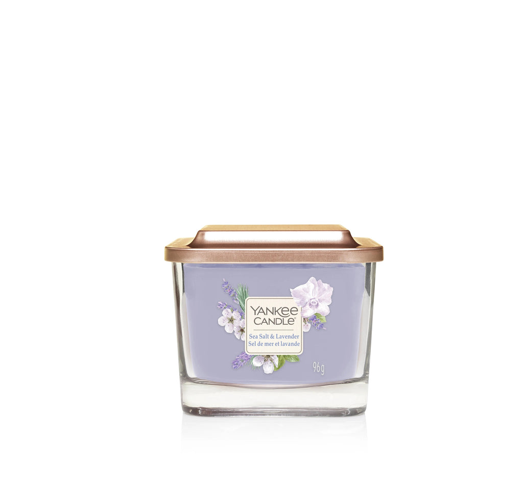 SEA SALT & LAVENDER -Yankee Candle- Candela Piccola