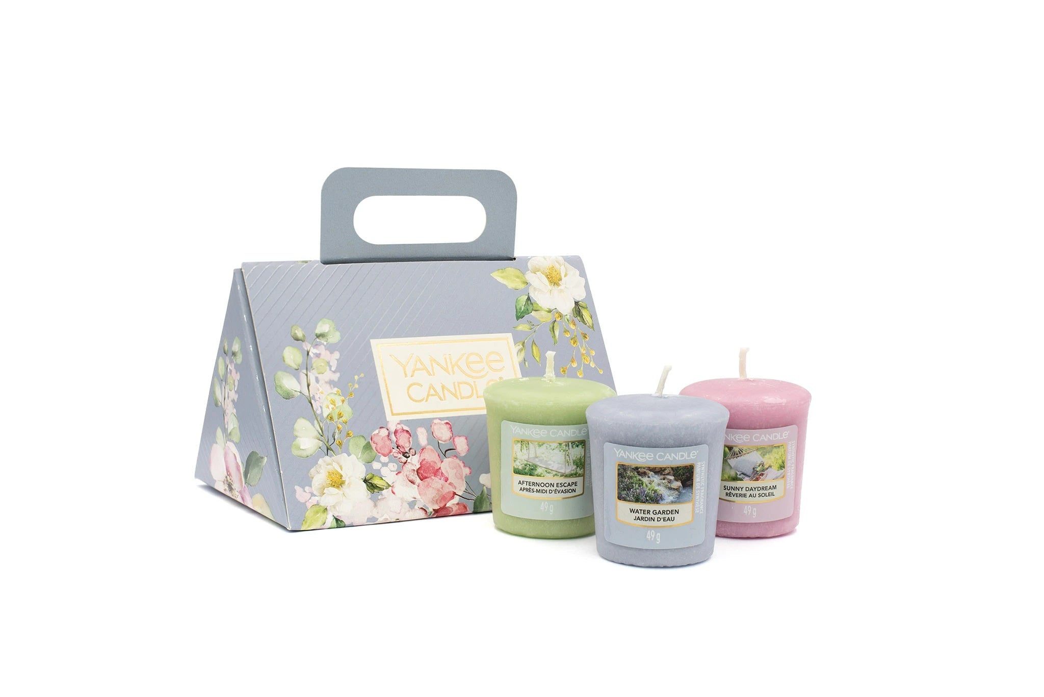 SET 3 CANDELE SAMPLER -Yankee Candle- Confezione Regalo