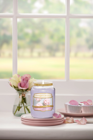 SWEET MORNING ROSE -Yankee Candle- Tart