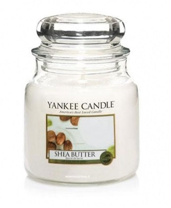 SHEA BUTTER -Yankee Candle- Giara Media