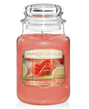 STRAWBERRY LEMON ICE -Yankee Candle- Giara Grande
