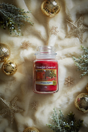 HOLIDAY HEARTH -Yankee Candle- Giara Media