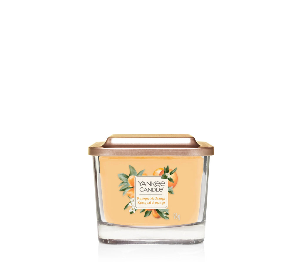 KUMQUAT & ORANGE -Yankee Candle- Candela Piccola