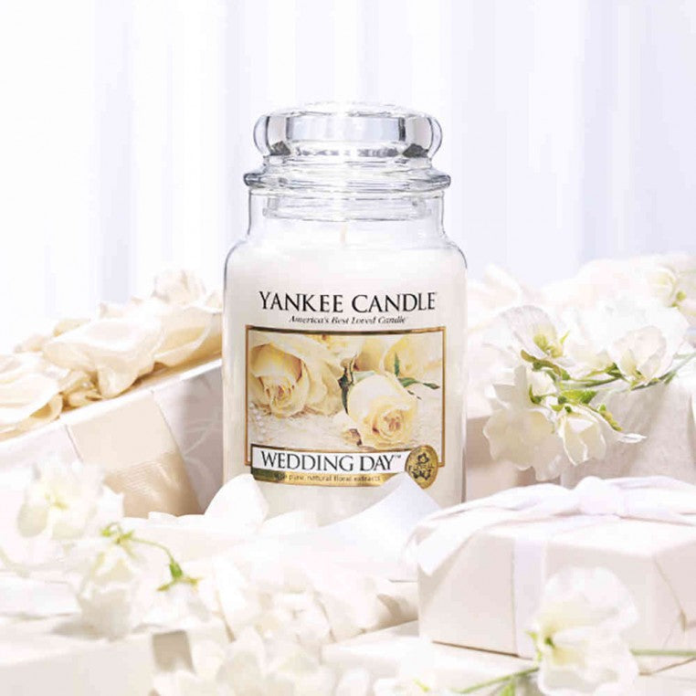 WEDDING DAY -Yankee Candle- Tea Light