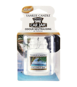 COCONUT BAY -Yankee Candle- Car Jar Ultimate