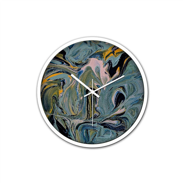 Aaron Henry Non-Ticking Silent Wall Clock