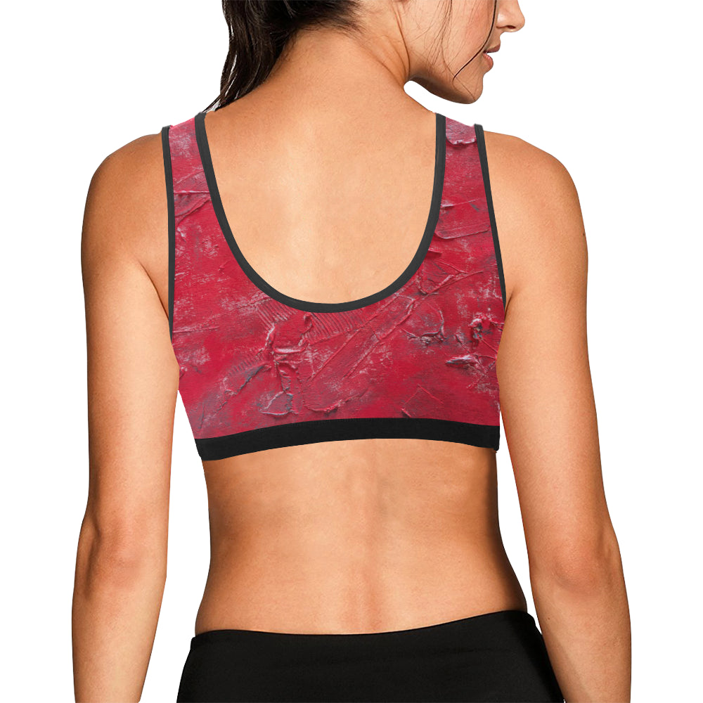 Alabama#2 Women's All Over Print Sports Bra