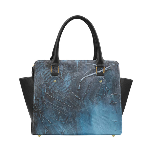 Complex Blues Classic Shoulder Handbag