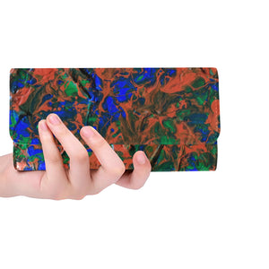 Florida#1 Women's Trifold Long Clutch Wallets