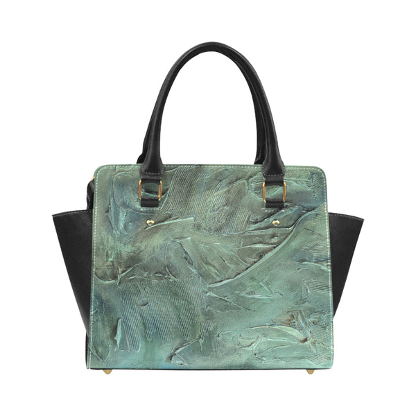 Aquamarine Classic Shoulder Handbag