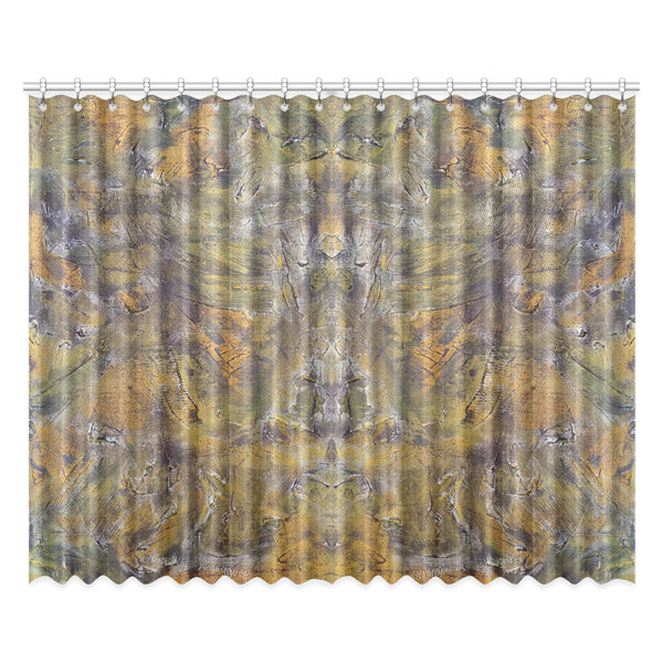 "Golden Pines Window Curtain 52""x84"" (Two Piece)"