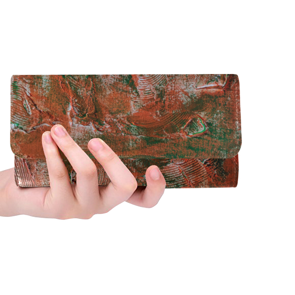 Florida#2 Women's Trifold Long Clutch Wallets