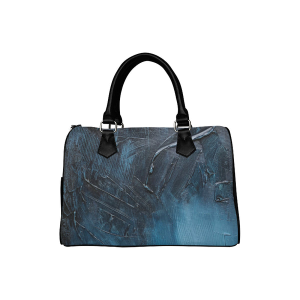 Complex Blues Barrel Type Handbag