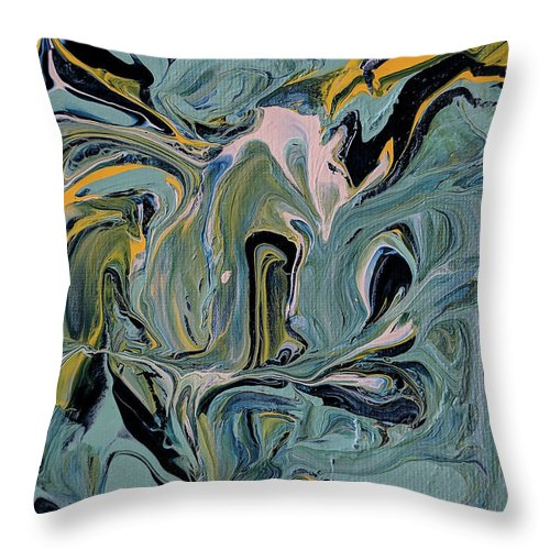 Aaron Henry - Throw Pillow