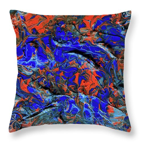 Auburn #1 - Throw Pillow