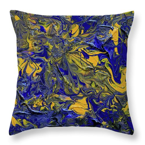 Lsu #1 - Throw Pillow