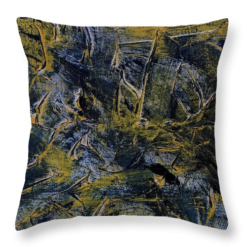 Predators Practice - Throw Pillow