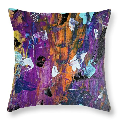 Saucy - Throw Pillow