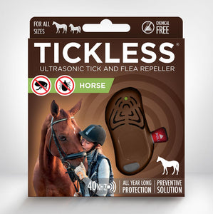 Tickless Classic Horse Chemical-Free Tick and Flea Repeller for Horses - SonicGuardUSA