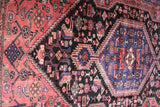 No. 0071 Antique Persian Hamadan Rug (4'2 x 7'5)