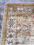 New Production #6 Oushak Design with beige and ivory background (10'4 x 6'10)