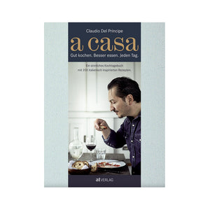 Claudio Del Principe: a casa. Slow Food all'italiana