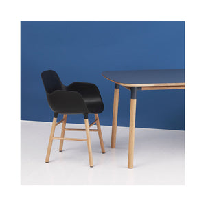 Normanm Copenhagen Form Armchair Wood