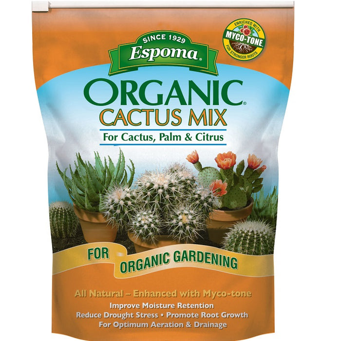 Espoma Organic Cactus Potting Mix, 4qt. bag