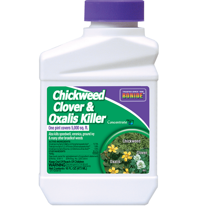 Chickweed, Clover & Oxalis Killer Concentrate, 16 oz. - Bonide