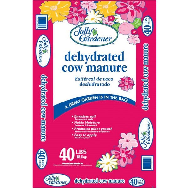 Dehydrated Cow Manure, 40-lb