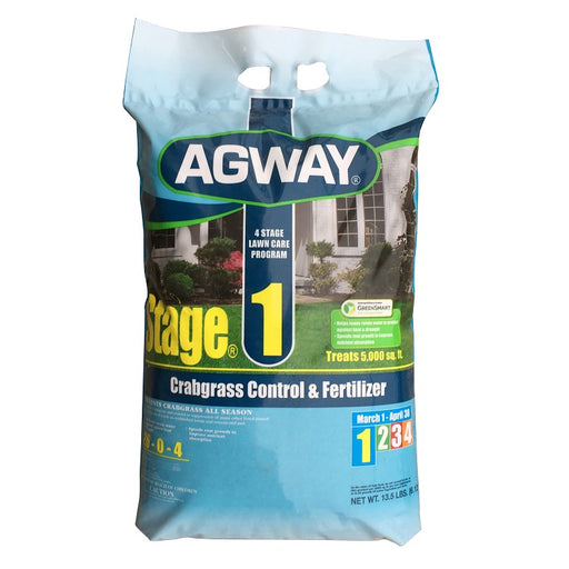 Agway Step 1 Spring Fertilizer with Crabgrass Control